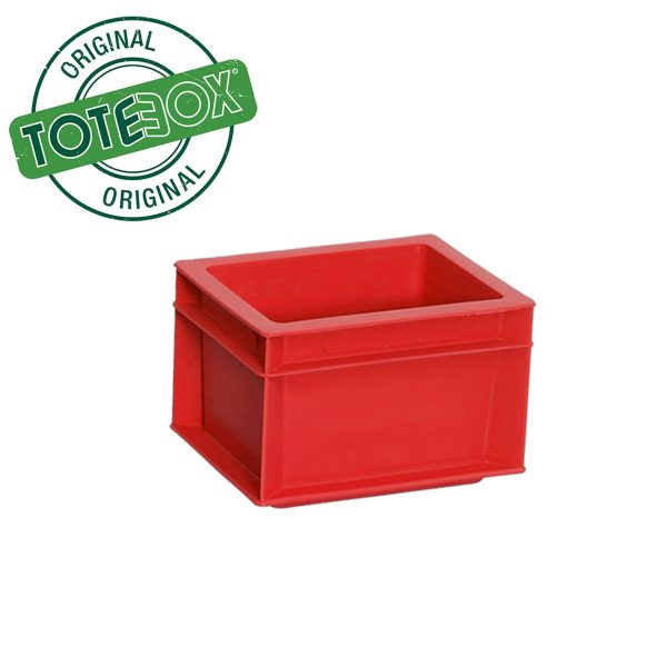 Red box with handles medium