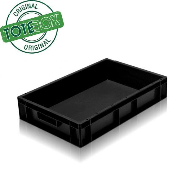black tray box with handles