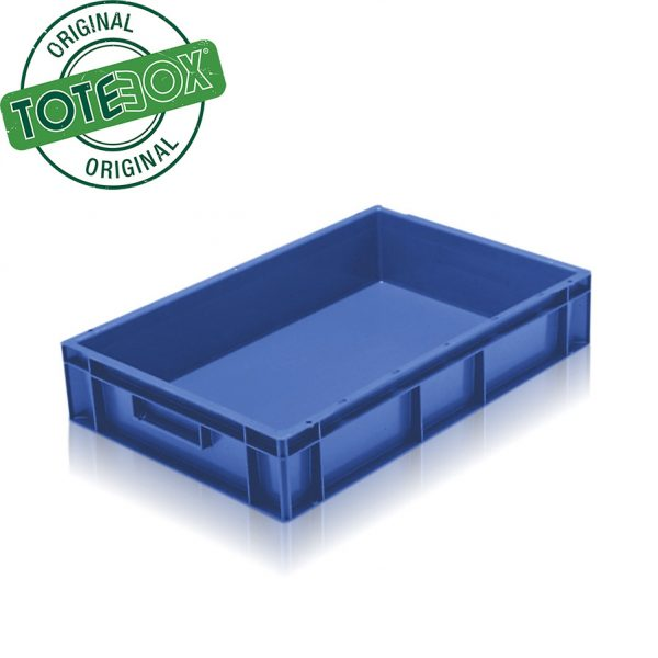 blue tray box with handles