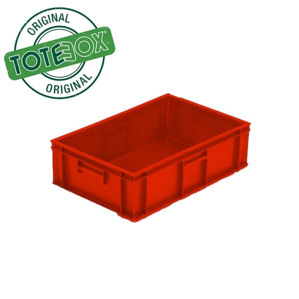 red medium box with handles