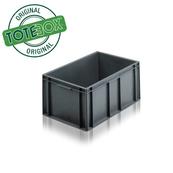 Euro stacking container-6428 - 54L Grey