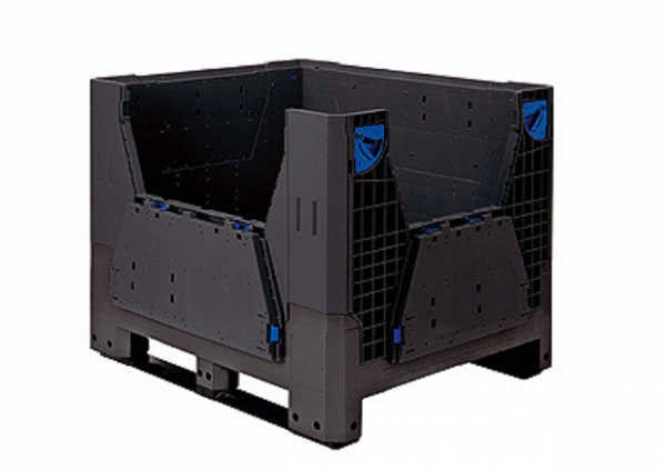 Plastic pallet boxes -Large Folding Bulk Container-FLA97520