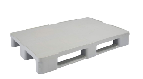 Hygienic Pallet With Runners-2