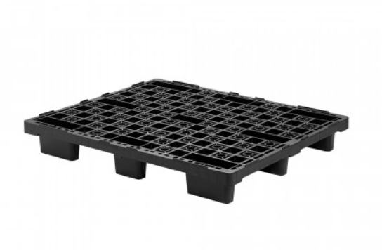 Plastic pallet with Feet