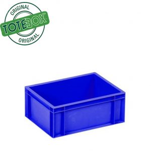 Blue box with handles medium
