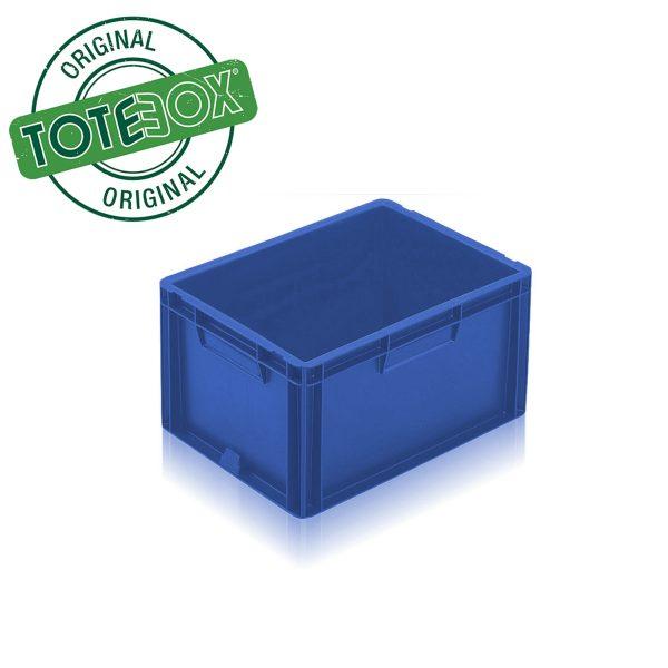 Blue box with handles medium