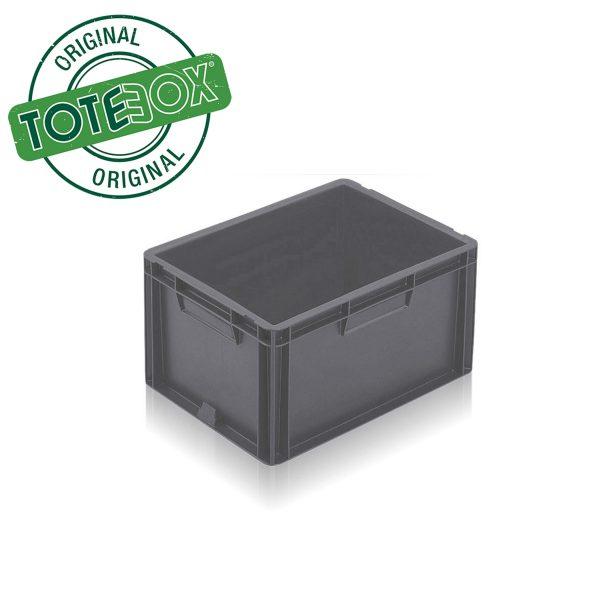 Grey box with handles medium