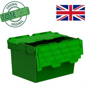 Plastic storage container with lids image