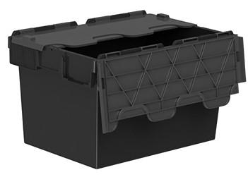 Totebox black lid folding