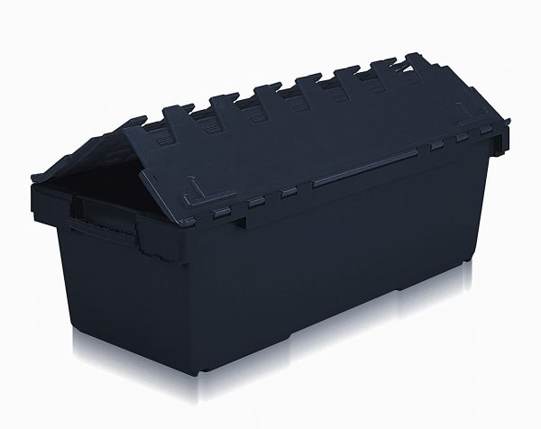 Black box with lid