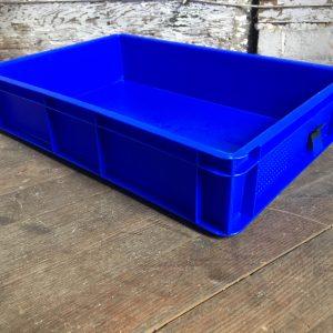 blue tray box