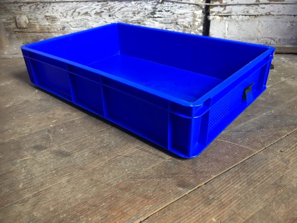 blue tray box