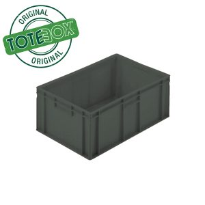 Grey small box with handles