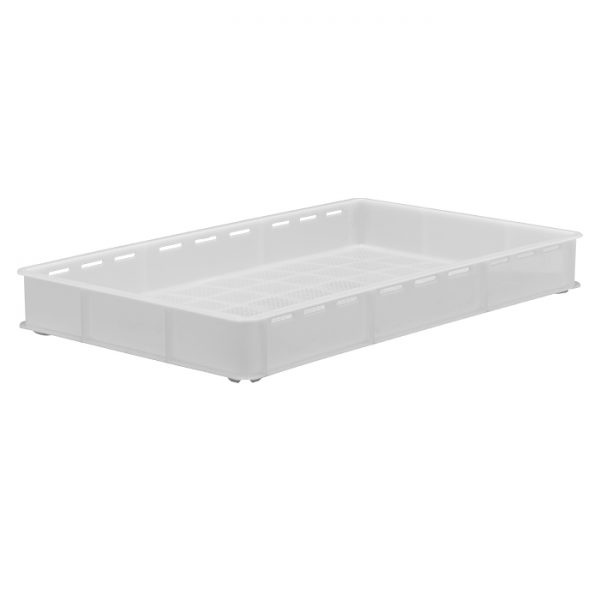 22 Litre – Ventilated sides, solid base 30×18 inch confectionery tray (762x457x92mm)