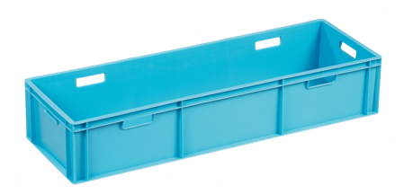 small long euro stacking box-12423
