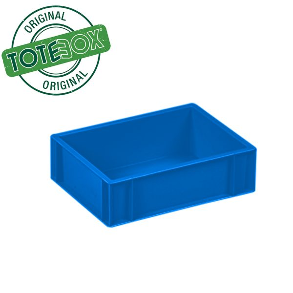 2111 - 10L D Blue plastic box