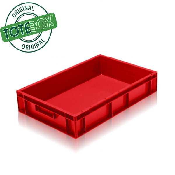 TBOX 6411 21L EURO RED stacking box