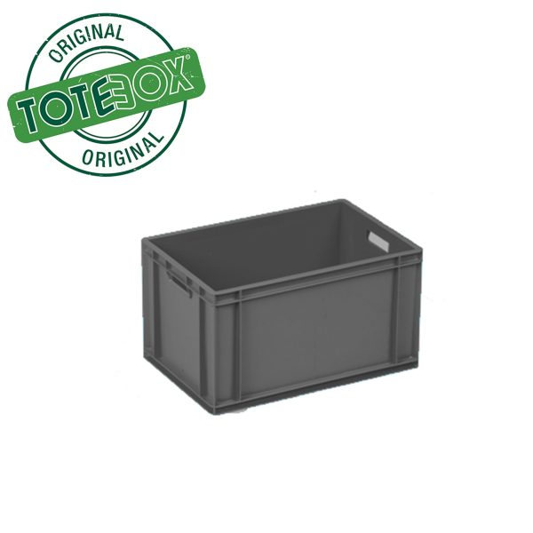 Euro stacking container-6434 - 60L - Grey