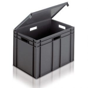 Euro Containers With Lids | Extra Strong Plastic Boxes