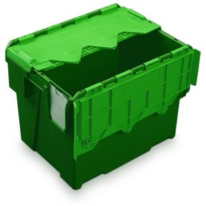 AT433104 green & green plastic box