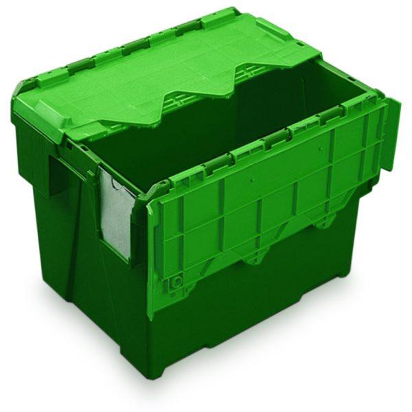 AT433104 green & green plastic box
