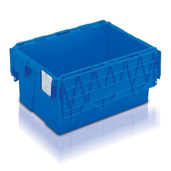 UK strong plastic storage boxes with lid - AT643104