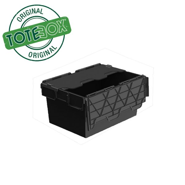Plastic storage container with lids-54L