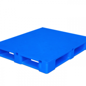 Heavy Duty Rackable Plastic Pallet Blue