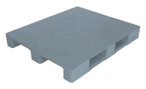 Multi Purpose Plastic Pallet Grey