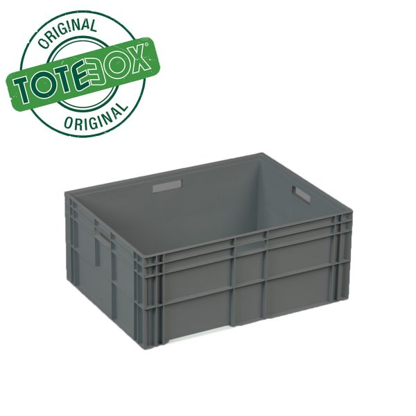 Plastic Storage Container in Grey