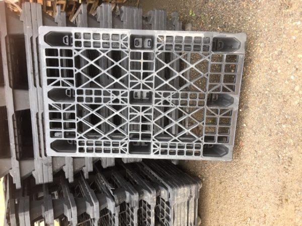 Grey crate