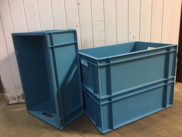 blue large boxes