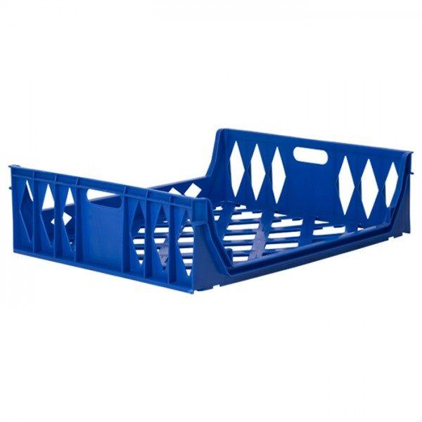 Blue bread crate