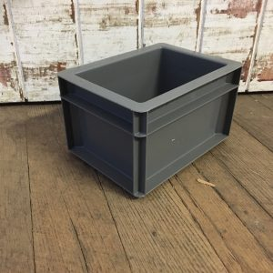 grey small tall box