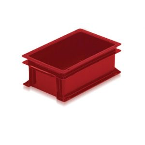 Red lipped box medium
