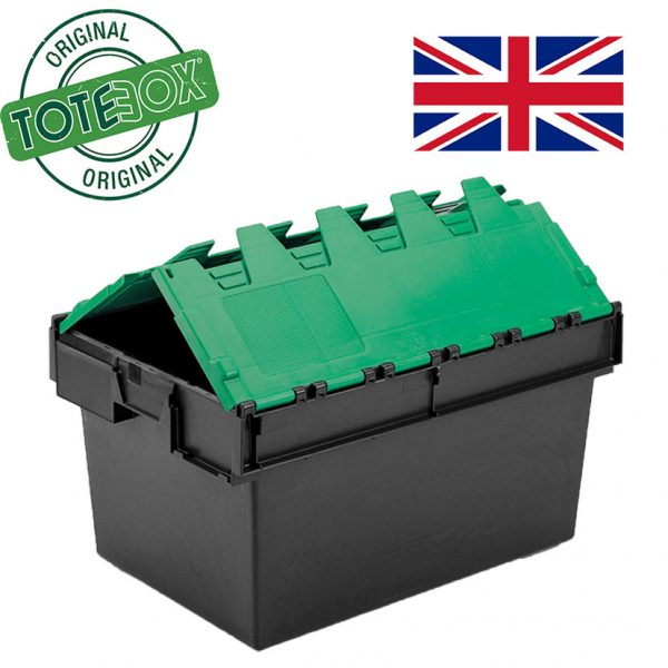 Totebox green lid folding