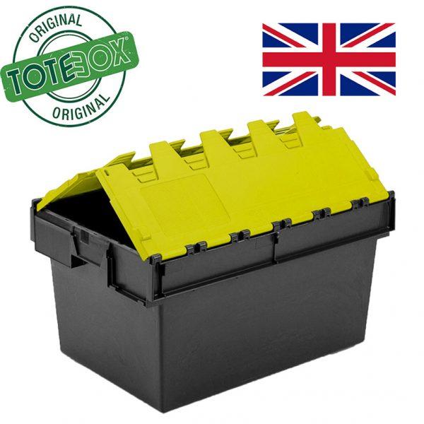 Totebox yellow lid folding