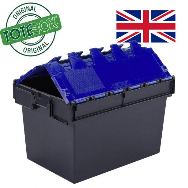 Totebox blue lid
