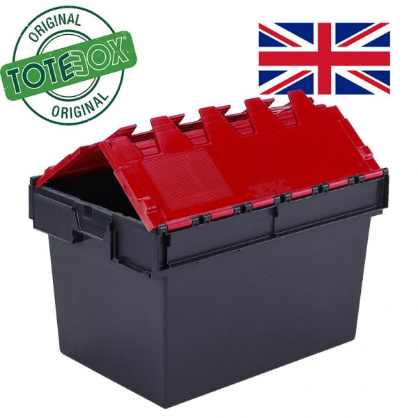Totebox with red lid
