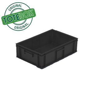 Totebox black box with handles