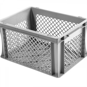 Dimond hole box grey