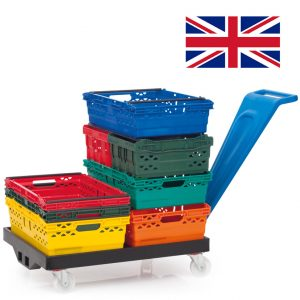 Supermarket Crates | Fresh And Frozen Food Carriers