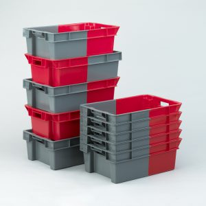 180° Degree Stacking Boxes | Nesting Plastic Containers